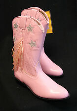 CLEARANCE Pink & Black Western Cowgirl Kids riding show boots Youth & kids sizes