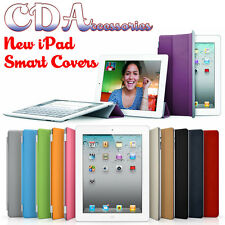 Apple iPad 4 3 2 Magnetic Ultra Slim Smart Cover Case Screen Protector