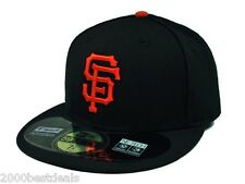 NEW ERA 59FIFTY MLB BASEBALL CAP SAN FRANCISCO GIANTS ON FIELD FITTED GAME HAT