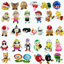 Super Mario Bros Plush Character Soft Toy Stuffed Animal Collectible Doll Teddy