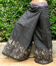 Thai Fisherman Pants Harem Yoga Pants Wrap Aladdin Genie Massage Trousers*FB-SA