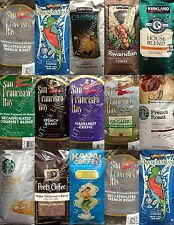 1 Bag Gourmet Whole Bean Coffee Starbucks Kirkland