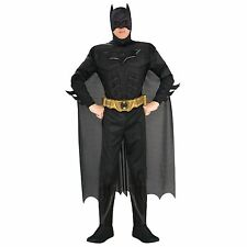 The Dark Knight Rises - Adult Batman Deluxe Muscle Chest Costume