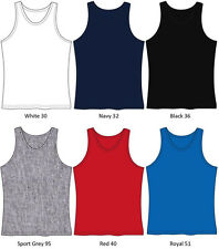 Gildan Mens Ultra Cotton Tank Top Any Size ANY Color 2200 ADULT SMALL TO 2XL