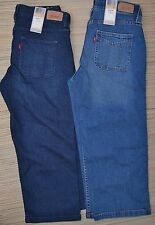 "LEVI'S 525 MISSES FIGURE ENHANCERS ""PERFECT WAIST"" DENIM  CAPRI JEANS LIST $48"