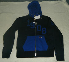 Nike Inter Milan Authentic AW77 Soccer Jacket Hoodie Mens M 419937 462 Blue