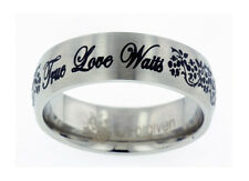 TRUE LOVE WAITS Ring Girls Flower Vine Forgiven Jewelry BRAND NEW