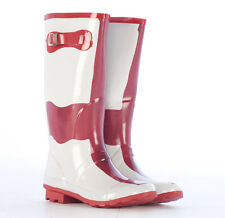 Womens Snow Rubber Wellys Funky Rain Fashion Wellington Wellies Boots Size 3-8
