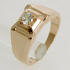 New Arrival 0.5CT Clear Crystal 18K Gold Plated Cute Ring 92485 Free Shipping