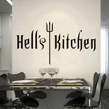 Hell's Kitchen WALL STICKER QUOTE ART DECA