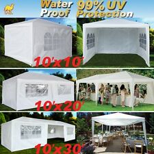 Wedding Party Tent Outdoor Easy Set Gazebo BBQ Pavilion Canopy Cater Events