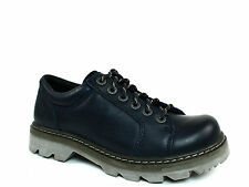 Caterpillar MORGAN Oxford  Womens  Casual  Work  Indigo Leather Shoe US-8