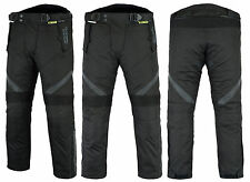 All Weather CE Armoured Motor Cycle Bike Wind/Waterproof/Thermal/Vented Trousers