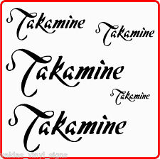 STICKERS FOR TAKAMINE GUITAR / CASE   takamine stickers x 5