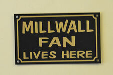 Millwall Fan Lives Here Football Xmas/Fathers/Mothers Day Gift Sign/Sticker