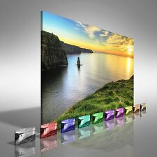 Cliffs of Moher Ireland Canvas Print Large Picture Wall Art