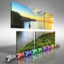 Cliffs of Moher Ireland Duo Offset Canvas Print Large Picture Wall Art