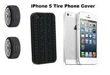 TYRE TREAD SILICONE RUBBER CASE COVER For iPhone 5 5G + SCREEN PROTECTOR