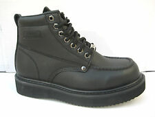 """Vegace - LaVega Men 6"""" Work Boot Black Leather Moc Toe Insulated Water Resistant"""