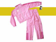NOTRE DAME YOUTH GIRLS ADIDAS FULL ZIP TRACK SUIT JACKET & PANTS TWO PIECE SET