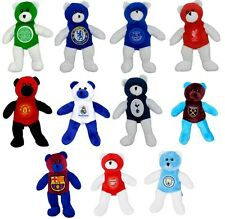 OFFICIAL FOOTBALL CLUB - SOFT MINI CREST TEDDY BEAR TOY (20CM) - NEW GIFT XMAS