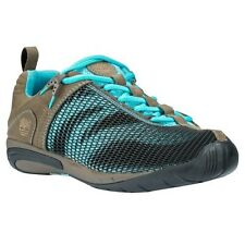 Timberland 1612R Earthkeepers Barestep Mesh Trail Oxford Shoes Brown Blue Womens