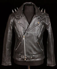Ghost Rider Men's New Biker Cruiser Style Real Soft Leather Fashion Movie Jacket
