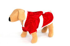 Christmas dog suit and coat fleecy lining, 6 sizes 2 styles. Ideal fancy dress