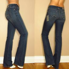 Seven 7 For All Mankind Kimmie Sexy Curvy Bootcut Gummy Jeans Mid-Rise 24 26