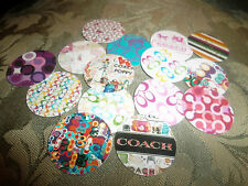 Pre Cut One Inch WONDERFUL DESIGNER  Bottle Cap Images! FREE SHIPPING!!