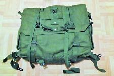 British Army 58 Pattern Webbing Yoke/Belt/Ammo Pouch/Poncho Roll/Large Pack