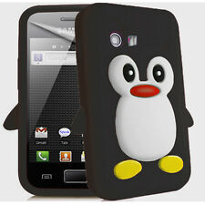 Cute Penguin Style Case For Samsung Galaxy Y S5360 Funky Back Cover