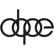 (2x) DOPE Audi A4 S4 A6 RS4 Vinyl Decal Car Window Sticker Funny Pick Color Size