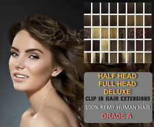 100% Remy Clip In Human Hair Extensions UK Fast Post