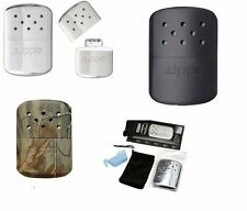 ZIPPO DELUXE HANDWARMER HAND WARMER BLACK POLISHED CHROME BRAND NEW