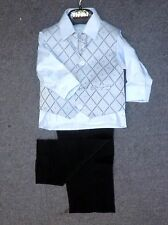 boys 4 piece wedding formal holy communion christening party