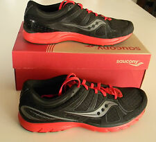 New Mens Saucony Grid Crossfire Running/Crosstraining Black/Red Many Sizes!!!