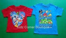 ANGRY BIRDS Size 6/7 8 10/12 14/16 MICKEY & FRIENDS Size XS S/CH M L/G