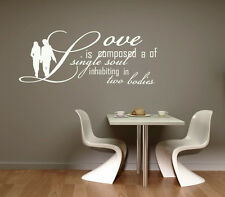 LOVE...WALL ART DECAL STICKERS VINYL ROOM BEDROOM LIVING ROOM CHRISTMAS GIFT