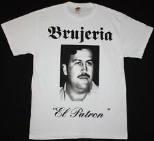 BRUJERIA EL PATRON NAPALM DEATH ASESINO CARCASS AT THE GATES NEW WHITE T-SHIRT