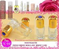 FIOLE BIJOU (ROLL-ON) ECHANTILLON 3ML Tous  parfums  Provence & Nature Ô Choix