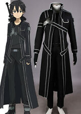 Sword Art Online SAO Kirito Cosplay costume Kostüm set original neu new Gun Gale