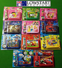 ANGRY BIRDS,BEN 10,TRANSFORMERS,CARS,SPONGE BOB,TOY STORY WALLET AND WATCH SETS