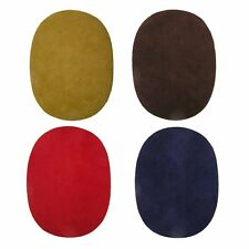 2 IRON-ON FAUX-SUEDE ELBOW PATCHES SELECT COLOR FROM MENU