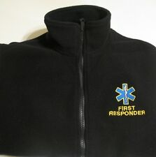 MEDICAL FLEECE STAR OF LIFE AMBULANCE PARAMEDIC RESPONDER EMBROIDERY FRONT&BACK