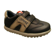 Camper 90125-001 Leather Trainer Casual Boys Shoe Blue Sizes UK Infant 3 - 5.5