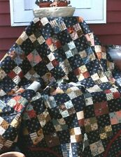 "Mary's 4 Patch 60"" x 66"" EASY Quilt Kit...Choose Your Colors!"