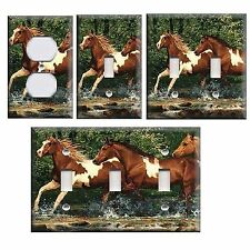 Fantastic Decortive Lightswitch covers---Wild Horses