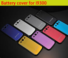Genuine Aluminum Metal Battery Door Cover Case For Samsung Galaxy S3 SIII i9300
