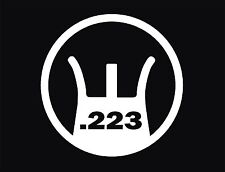 AR 15   M 16 sight decal  .223